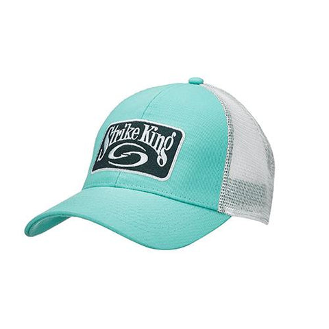 Survival Nerdz - Trucker Cap - Caledon Body-White Neon Mesh, Clothing & Apparel,Strike King Lures