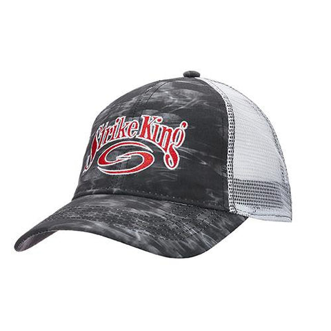 Survival Nerdz - Trucker Cap - Scale Tech Body-White Mesh, Clothing & Apparel,Strike King Lures