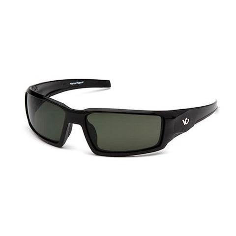 Survival Nerdz - Pagosa Sunglasses, Forest Gray Anti-Fog Lens with Black Frame, Eyewear,Pyramex Safety Products