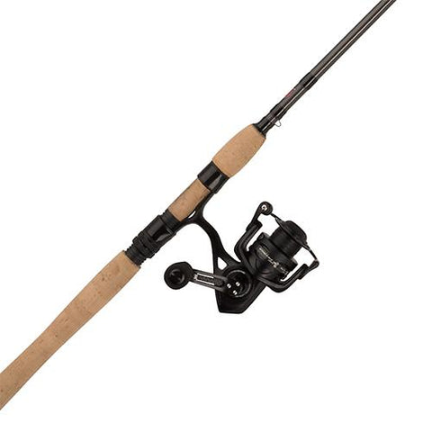Survival Nerdz - Conflict II Spinning Combo - 2500, 6.2:1 Gear Ratio, 7' Length, 1pc Rod, 4-10 lbs Line Rate, Ambidextrous, Fishing,Penn
