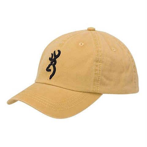 Survival Nerdz - Cap - Ace, Mustard, Clothing & Apparel,Browning