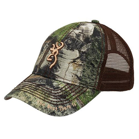 Survival Nerdz - Cap - Bozeman, Mossy Oak Mountain Country-Brown, Clothing & Apparel,Browning