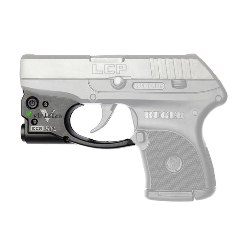 Survival Nerdz - Reactor TL Gen II Tactical Light - Ruger LCP with ECR Instant On Holster, Black, Flashlights & Lighting,Viridian Weapon Technologies