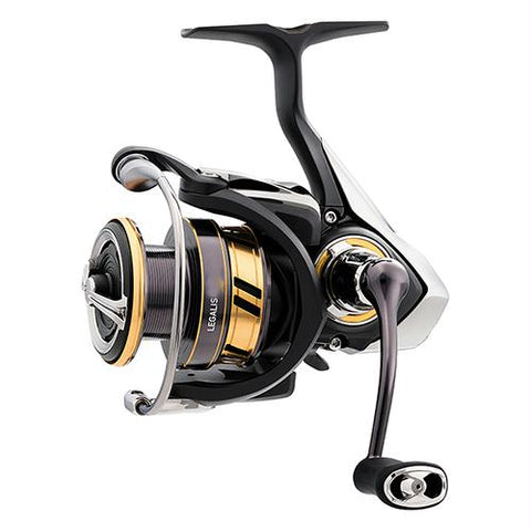 "Survival Nerdz - Legalis LT Spinning Reel - 3000, 5.3:1 Gear Ratio, 31.60"" Retrieve Rate, 22 lb Max Drag, Ambidextrous, Fishing,Daiwa"