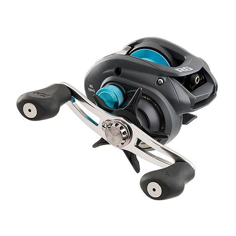 "Survival Nerdz - RG Casting Reel - 100, 6.3:1 Gear Ratio, 25.70"" Retrieve Rate, 11 lb Max Drag, Right Hand, Clam, Fishing,Daiwa"