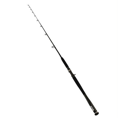 "Survival Nerdz - Saltiga G Boat Jigging Conventional Rod - 7'6"" Length, 1 Piece, 15-40 lb Line Rate, 3 3-4-4 3-4 oz Lure Rate, Medium Power, Fishing,Daiwa"