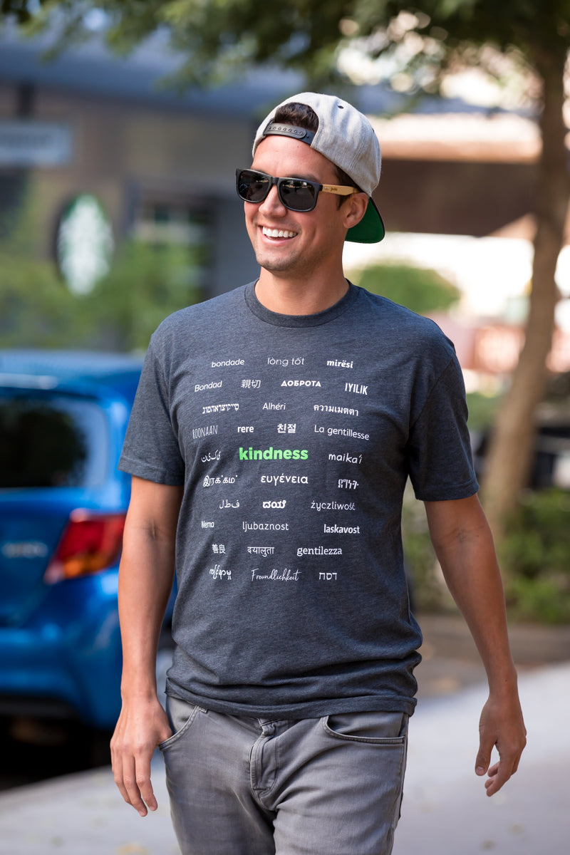 HUMANKIND - KINDNESS MULTIPLE LANGUAGES T-SHIRT