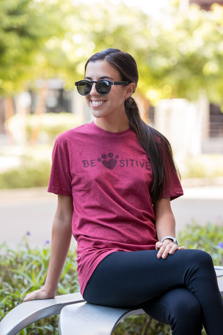 ANIMALKIND - BE PAWSITIVE T-SHIRT