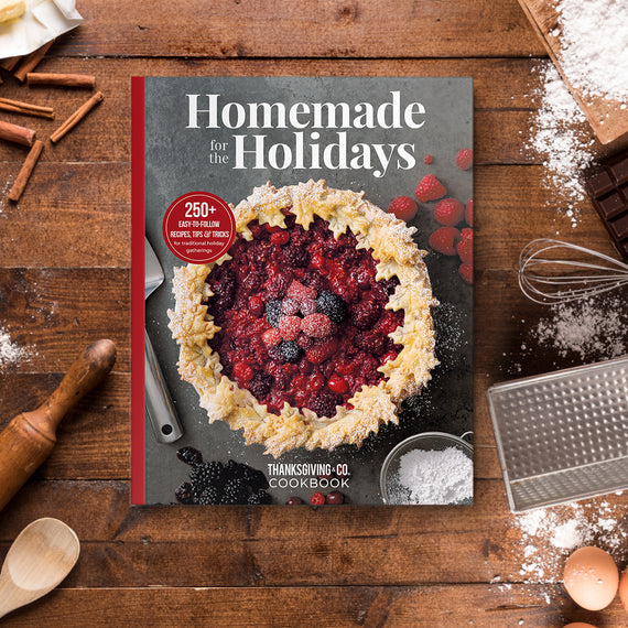 Homemade for the Holidays Cookbook
