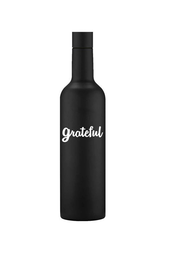 GRATEFUL 25OZ. DEVINE VINO BOTTLE