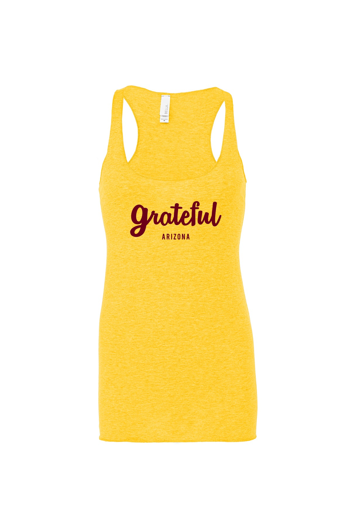 GRATEFUL ARIZONA RACERBACK TANK - GOLD
