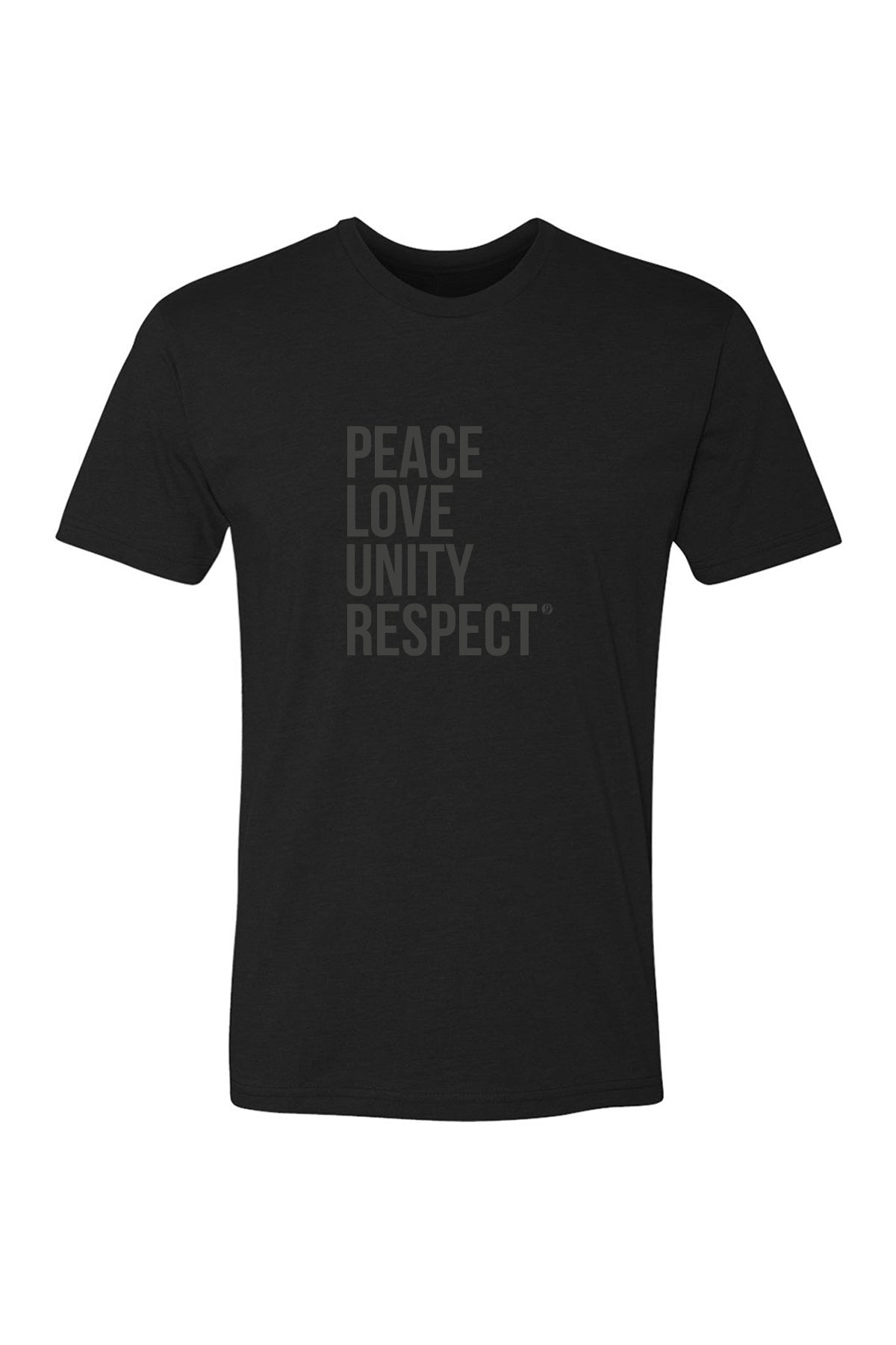 PEACE LOVE UNITY RESPECT T-SHIRT