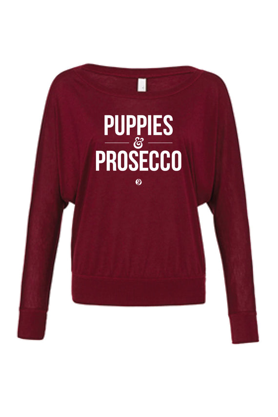 PUPPIES & PROSECCO LONG SLEEVE