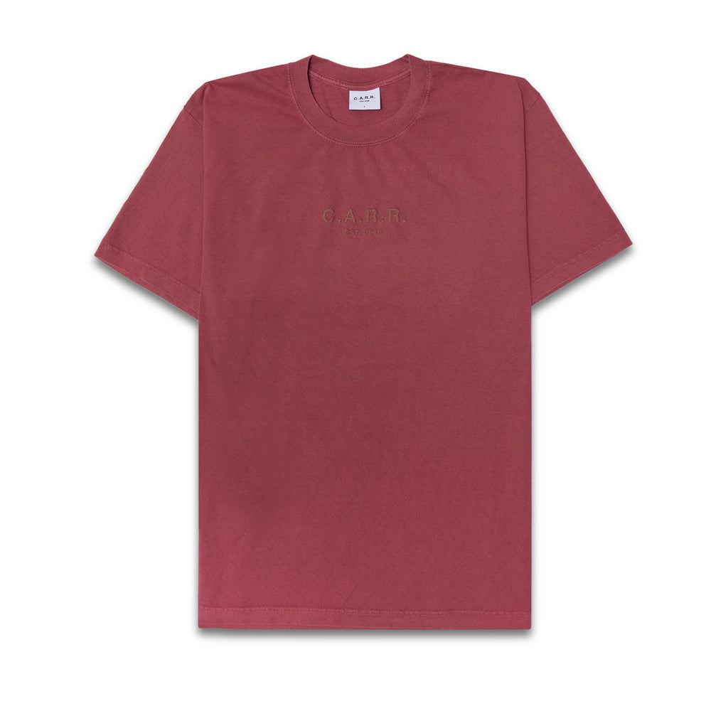 Load image into Gallery viewer, C.A.R.R. WASHED RED LOGO BOX TEE