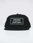 FISHER - CROWD CONTROL CAP - COTTON BLACK