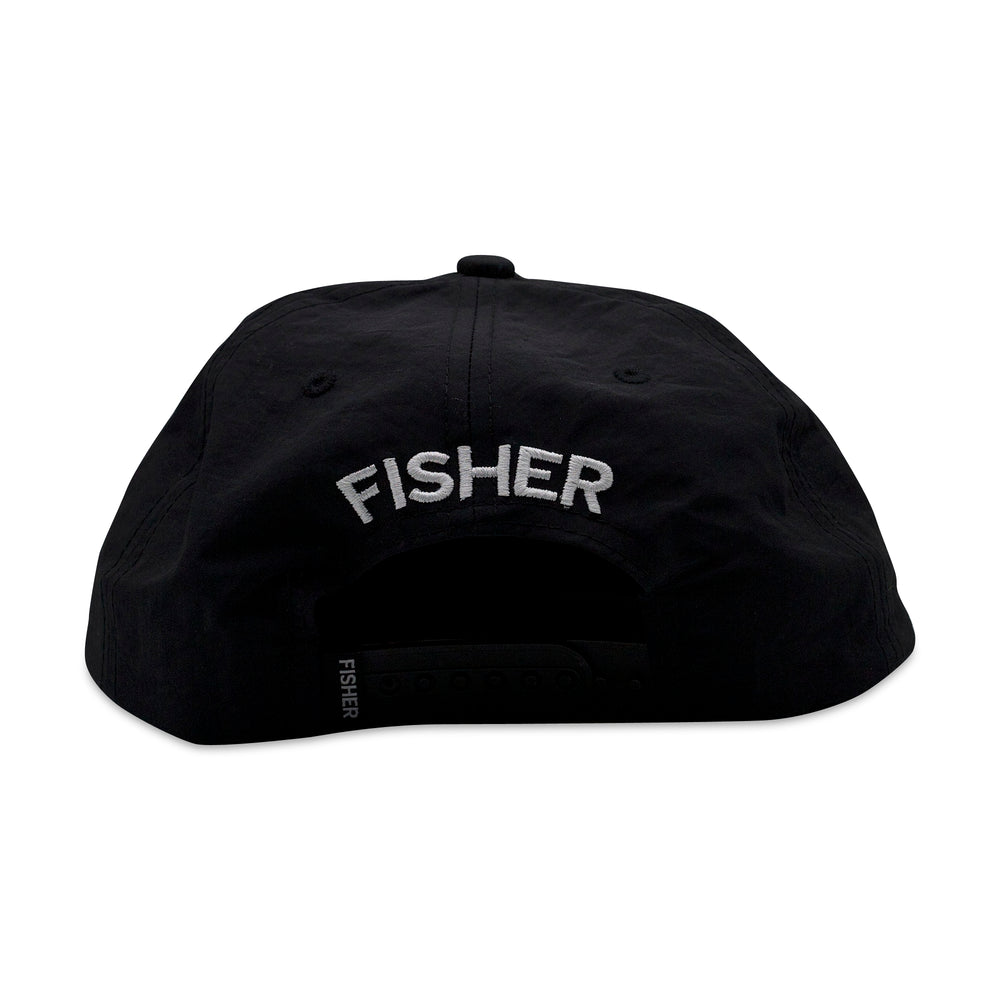 CROWD CONTROL CAP - NYLON BLACK