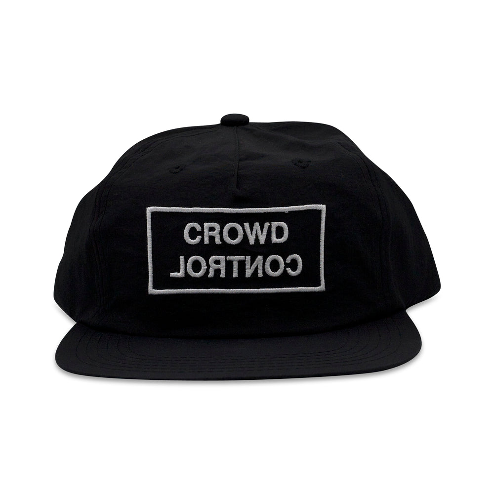 Load image into Gallery viewer, CROWD CONTROL CAP - NYLON BLACK