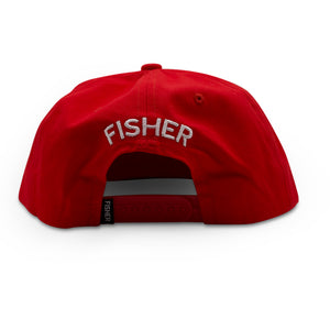 CROWD CONTROL CAP - COTTON RED