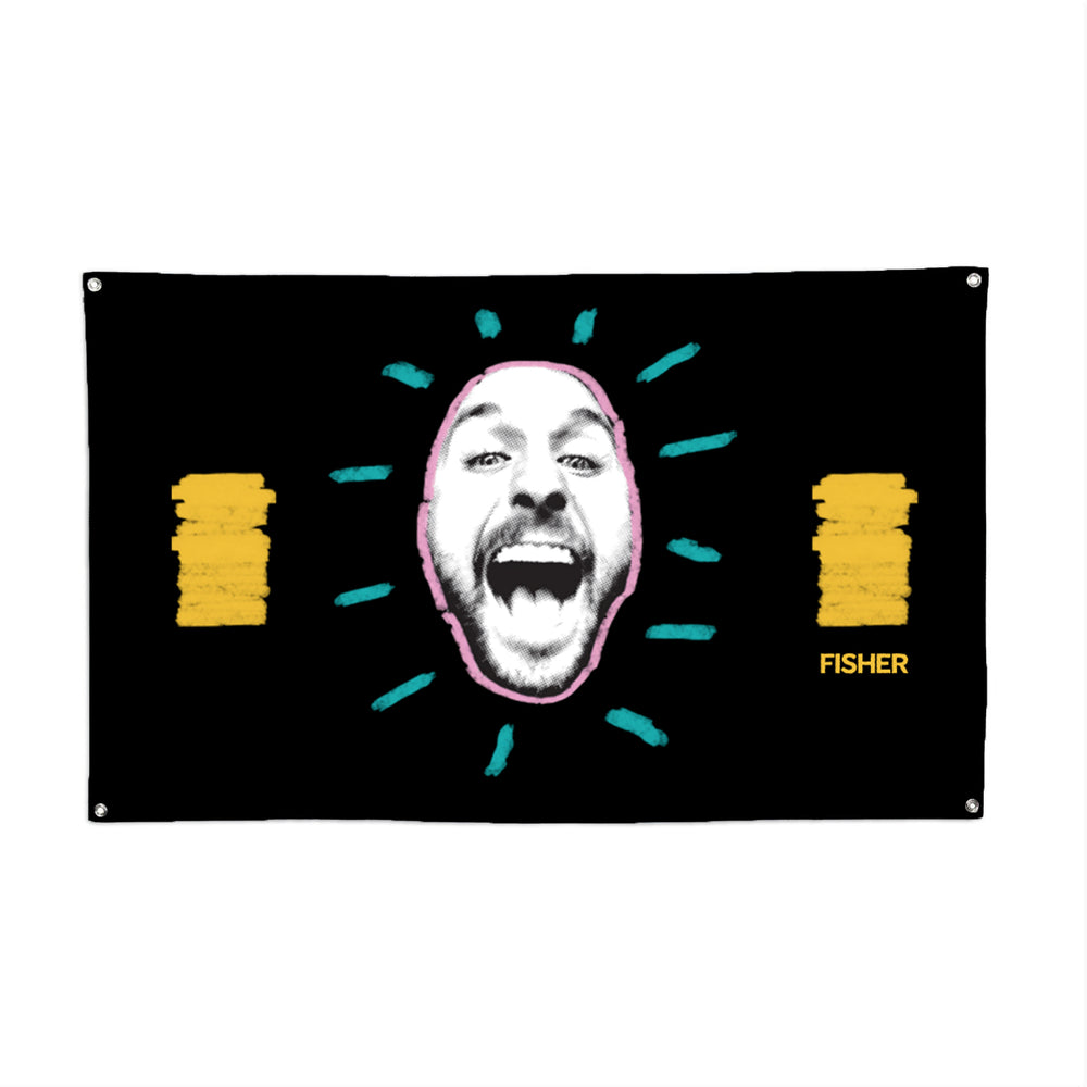 FISHER FACE FLAG