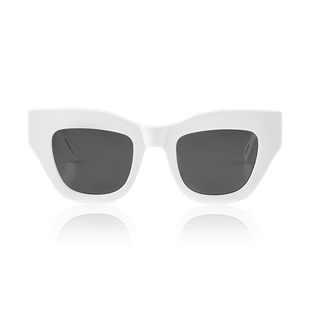 Load image into Gallery viewer, HAARLEM SUNGLASSES - WHITE