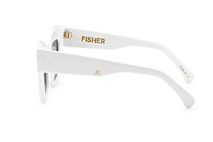 HAARLEM SUNGLASSES - WHITE