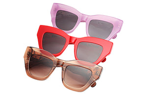 Load image into Gallery viewer, HAARLEM SUNGLASSES - RED