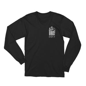 Load image into Gallery viewer, STOP IT LONG SLEEVE TEE