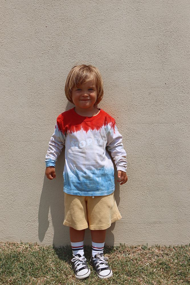 Load image into Gallery viewer, STOP IT DYE LONG SLEEVE - KIDS