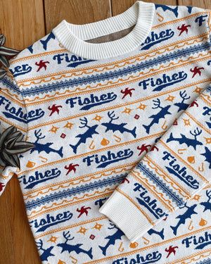 Fisher Holiday Sweater