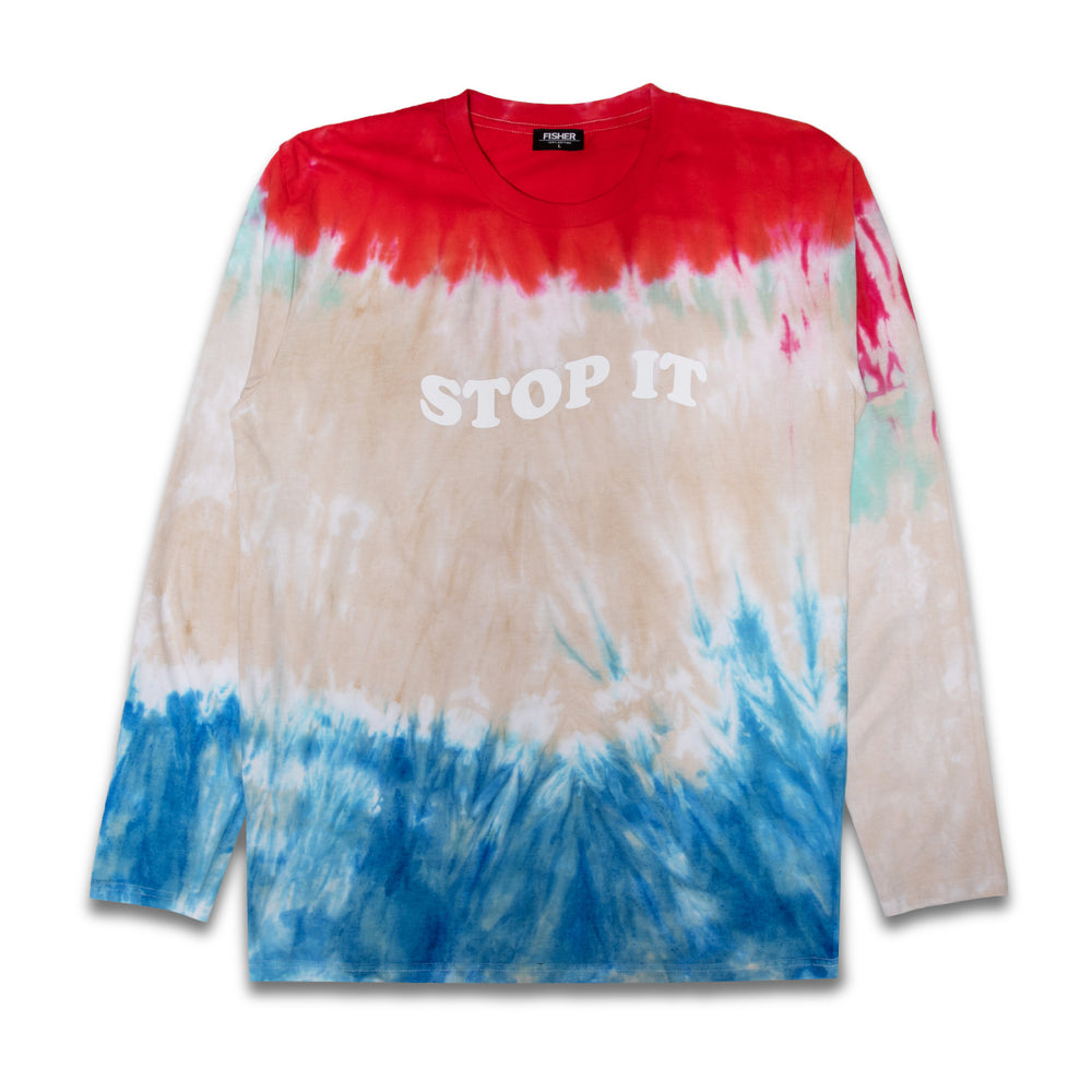 Load image into Gallery viewer, STOP IT DYE LONG SLEEVE