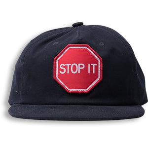 STOP IT CAP - COTTON NAVY