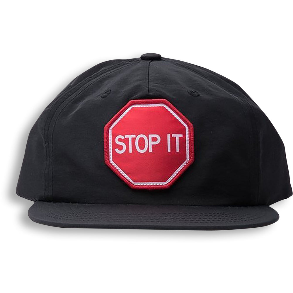 STOP IT CAP - NYLON BLACK