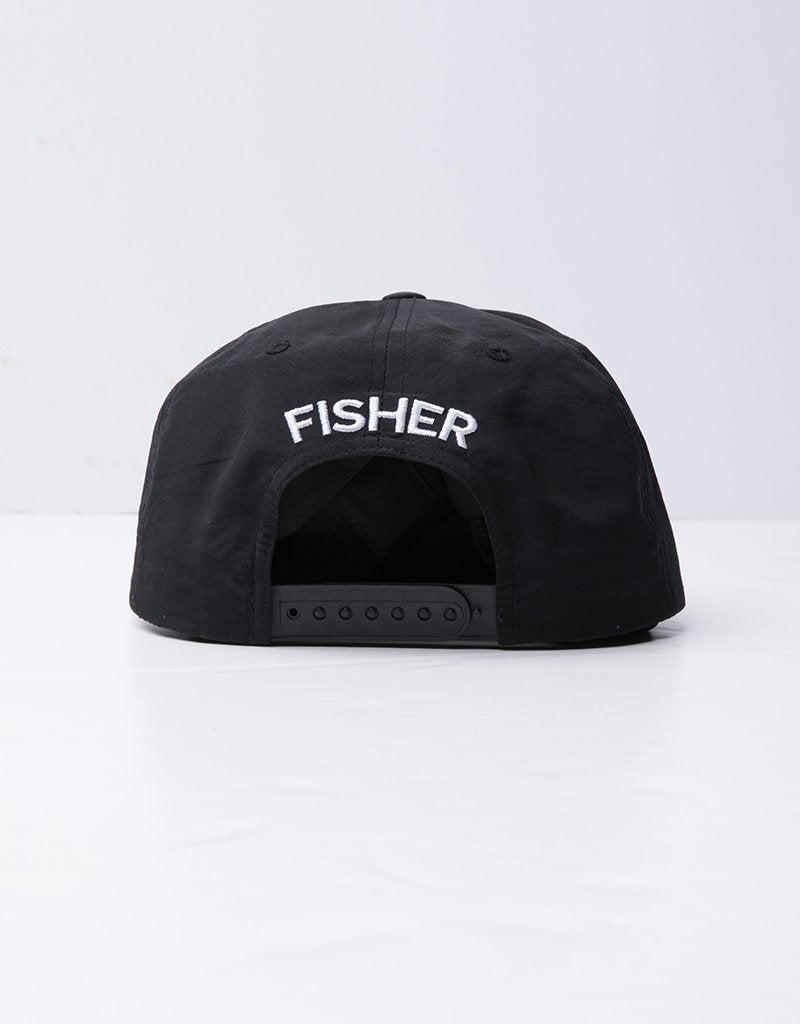 FISHER - YA KIDDING CAP - NYLON BLACK