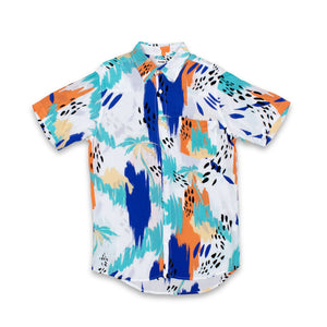 TROPICANA PARTY SHIRT - WHITE