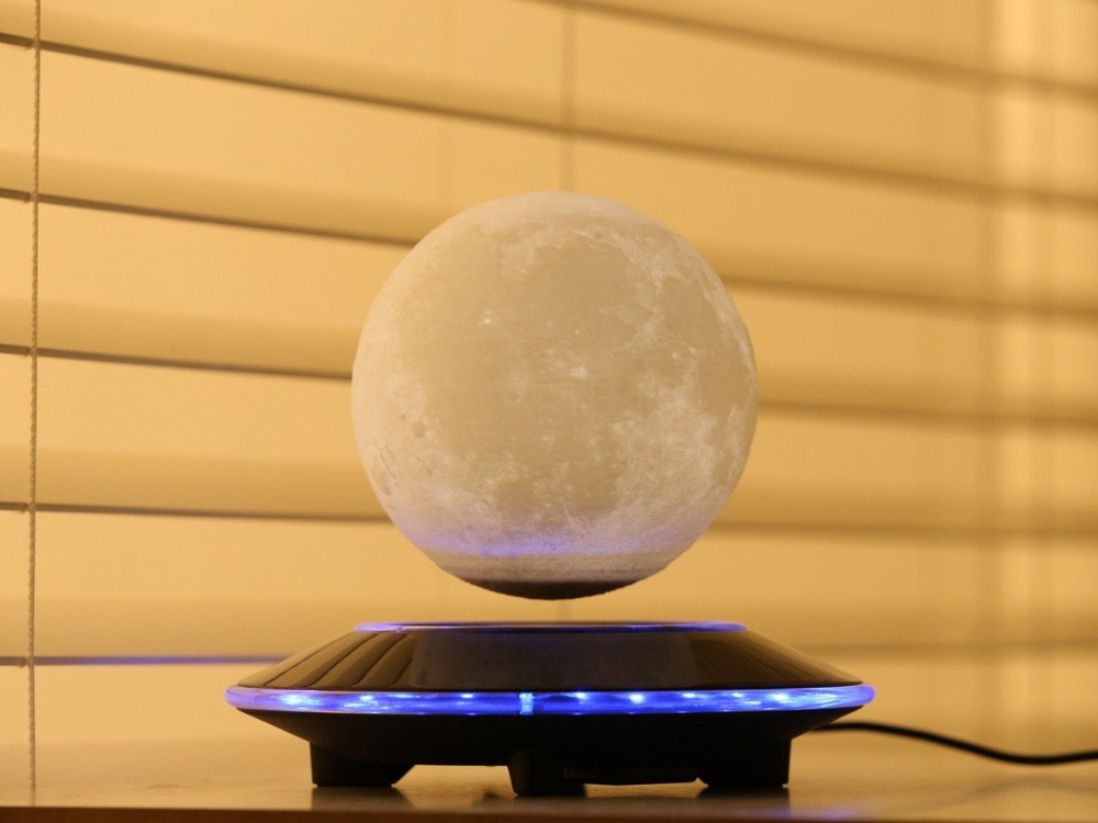 Lámpara Luna Led Flotante