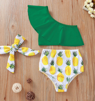 Baby Girl Pineapple Swimsuit