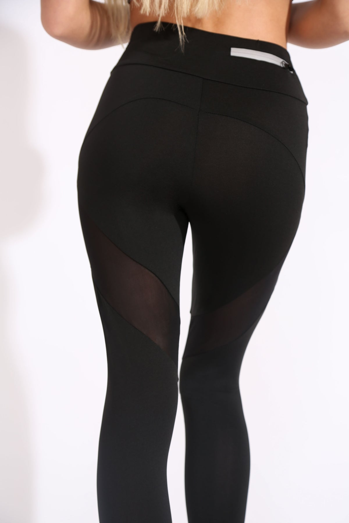 Mesh Zipped Gym Leggings