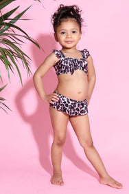 Baby Girl Leopard Two piece