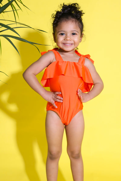 Baby Girl Ruffle Swimsuit