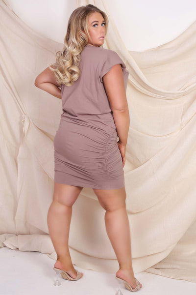 Curve Autumn Dress