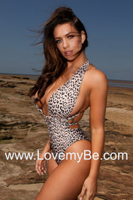 Leopard Print Multi Way Swimsuit