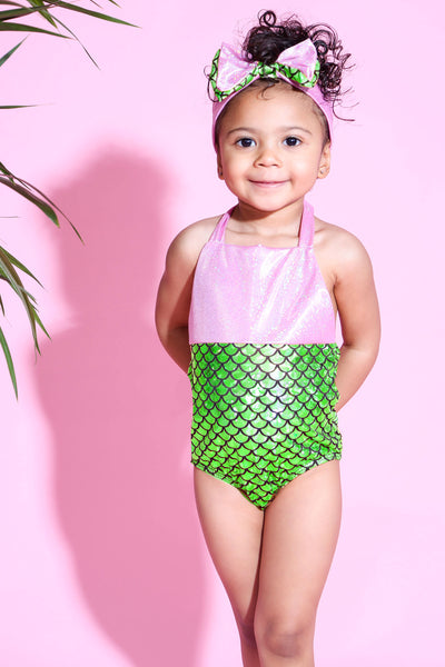 Baby Girl Mermaid Bikini