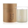 330g CLEAR BEAKER CANDLE - TOBACCO & FIR