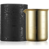 330GRAM GOLD BEAKER CANDLE - COCONUT & LIME