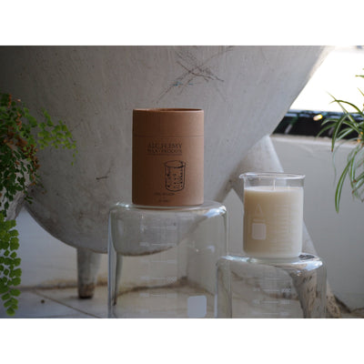 Alchemy Beaker Candle - Tobacco & Fir (210 Gram)