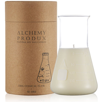 Alchemy Conical Flask Candle - WILD FIG (230Gram)