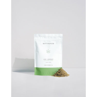 Butt Naked Hemp + Rosemary Body Scrub