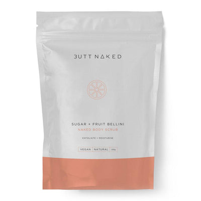 Butt Naked Sugar + Fruit Bellini Body Scrub