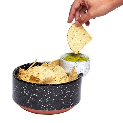 DOIY Eclipse Chip and Dip Serving Bowl
