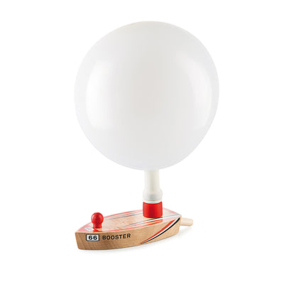 Balloon Boat Floating Wooden Toy